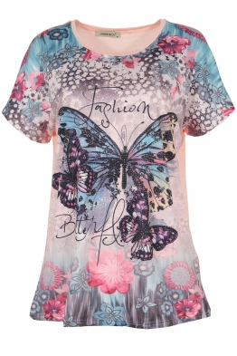 Дамска блуза LE 3832 розова