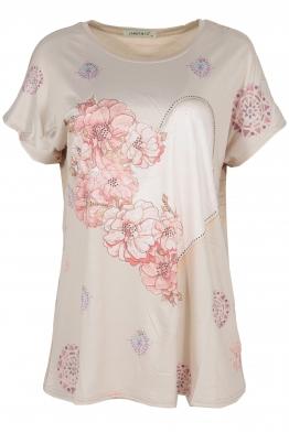 Дамска блуза LE 3837 бежова