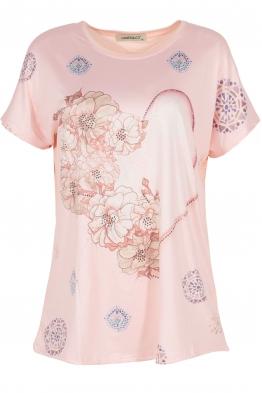 Дамска блуза LE 3837 розова