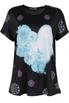 Дамска блуза LE 3837 черна