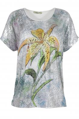Дамска блуза LE 3862 бяла
