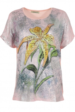 Дамска блуза LE 3862 розова