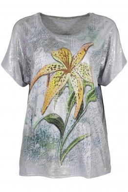 Дамска блуза LE 3862 сива