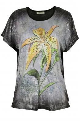 Дамска блуза LE 3862 черна