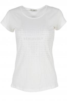 Дамска тениска АННА  А -1 бяла