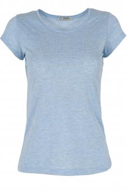 Дамска тениска АННА  А -1 светло синя