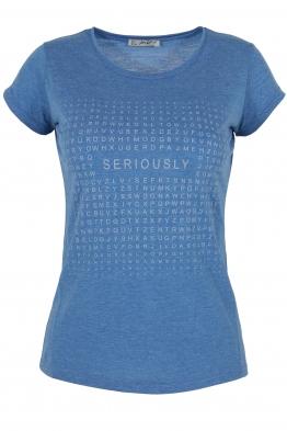 Дамска тениска АННА  А -1 синя