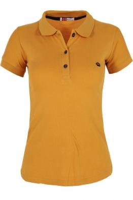 Дамска тениска МОР с  якичка горчица