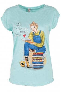 Дамска тениска RELAX резида