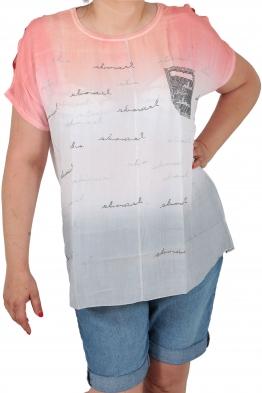 Дамска блуза 6A 126 корал