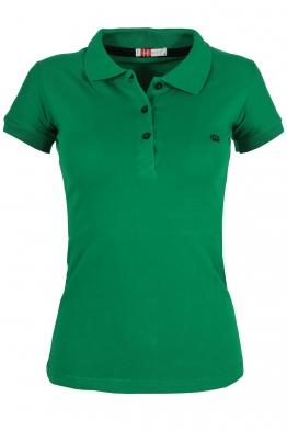 Дамска тениска МОР с якичка зелена