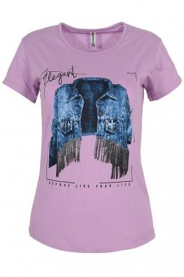 Дамска тениска ELEGANT лилава