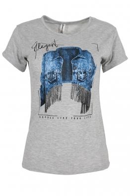 Дамска тениска ELEGANT сива