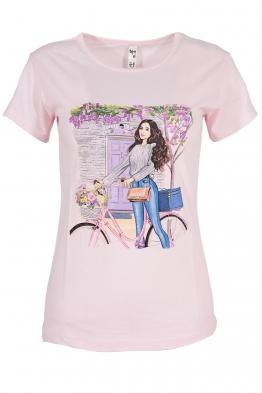 Дамска тениска MAILS розова