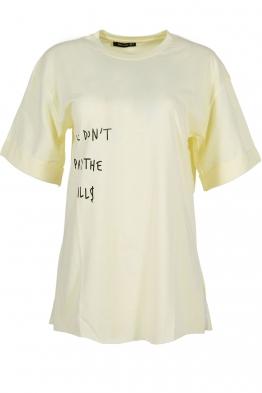 Дамска тениска THE BILLS жълта