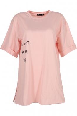 Дамска тениска THE BILLS ябълков цвят