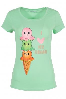 Дамска тениска ISE CREAM резида