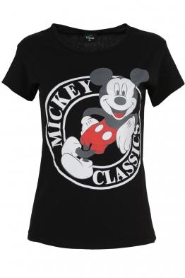 Дамска тениска MICKEY черна