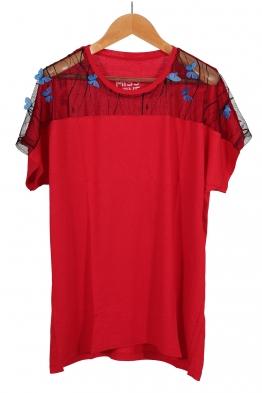 Дамска тениска MISS LOVE червена