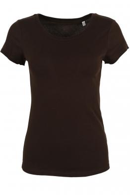 Дамска тениска 0280T кафява