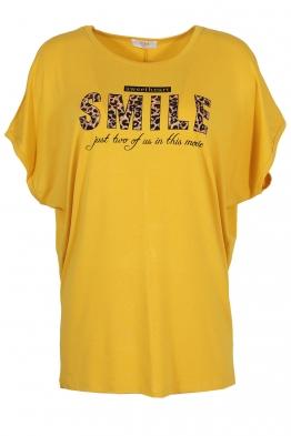 Дамска тениска 20502 жълта