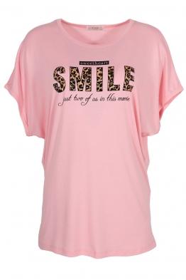 Дамска тениска 20502 розова