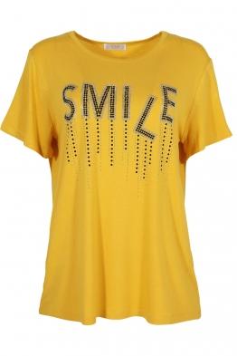 Дамска тениска 20532 жълта
