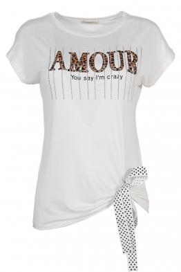 Дамска тениска 20535 бяла