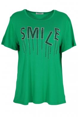 Дамска тениска 20532 зелена