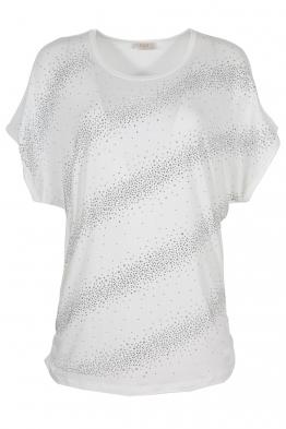 Дамска тениска 21608 бяла