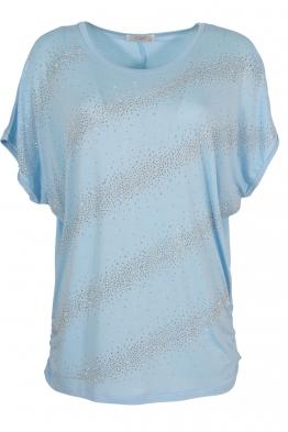 Дамска тениска 21608 синя