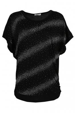 Дамска тениска 21608 черна