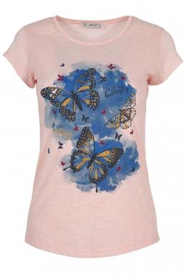 Дамска тениска AVGUSTA розова