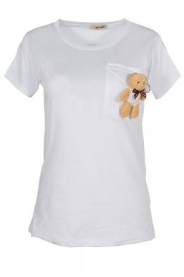 Дамска тениска MY FRIEND A-1 бяла