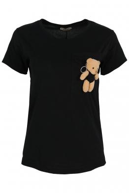 Дамска тениска MY FRIEND A-1черна