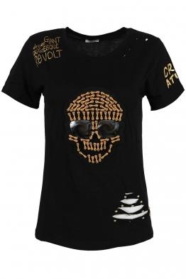 Дамска тениска SKU-01 черна