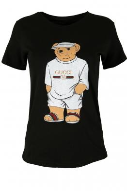 Дамска тениска TEDY черен