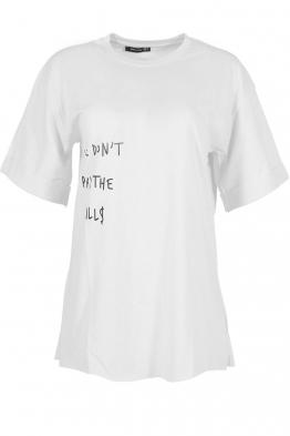 Дамска тениска THE BILLS бяла