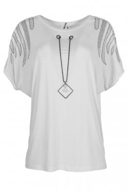Дамска тениска 21202 бяла