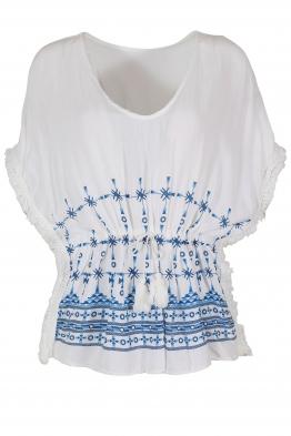 Дамска блуза -пончо ЕЛЕНА А-1