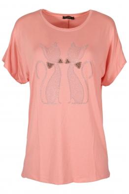 Дамска блуза BIG STAR  А-5 ябълков цвят