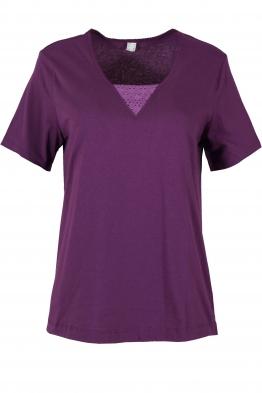 Дамска блуза LOARA лилава
