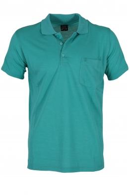 Блуза с якичка COLLECT мента