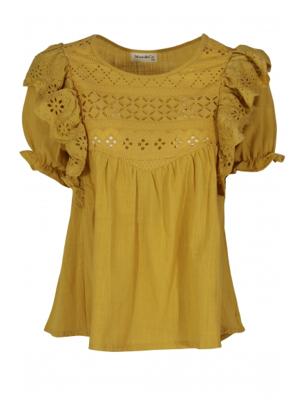 Дамска блуза ТОРИНО горчица