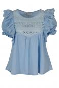 Дамска блуза ТОРИНО светло синя