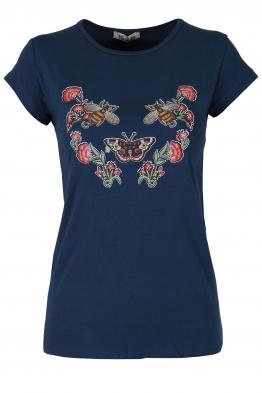 Дамска блуза ФЛАЙ синя