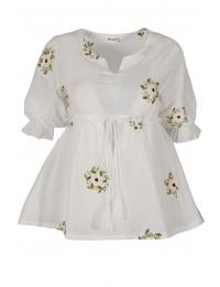 Дамска блуза 6628 бяла