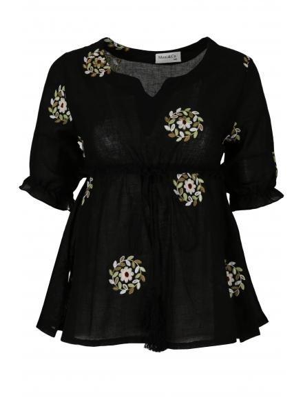 Дамска блуза 6628 черна