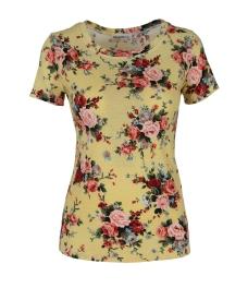 Дамска блуза 6681 жълта