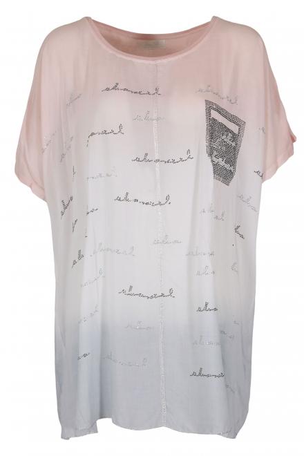 Дамска блуза 6A 126 пудра